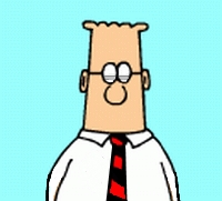 This is NOT Dilbert. This is a character inspired by Dilbert. Identify 3 ways that Herbert is not Dilbert and I will send you a free eBook of my first book.